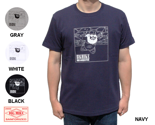 BIGMIKE ビッグマイク オジサン Tシャツ