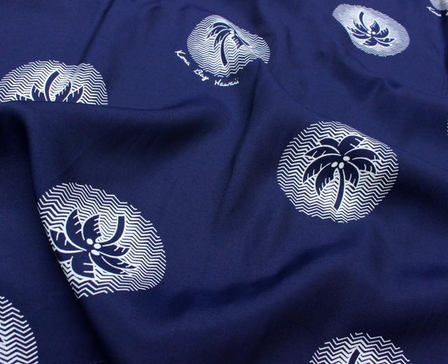 コナベイハワイ アロハシャツ パームツリー