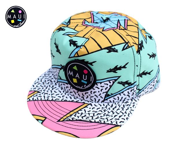 マウイアンドサンズ Mauiandsons フリップアップ キャップ 帽子
