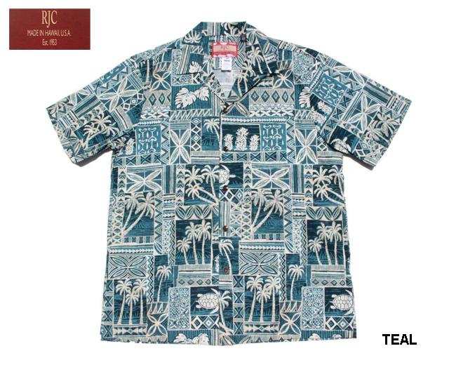 RJC ハワイ製 アロハシャツ