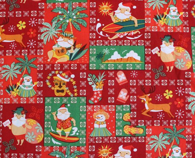 RJC アロハシャツ サンタ クリスマス