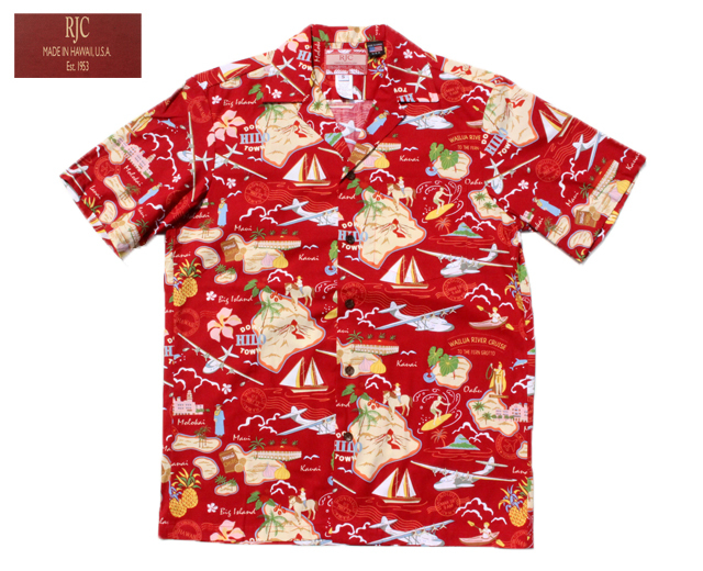 RJC アロハシャツ ハワイ