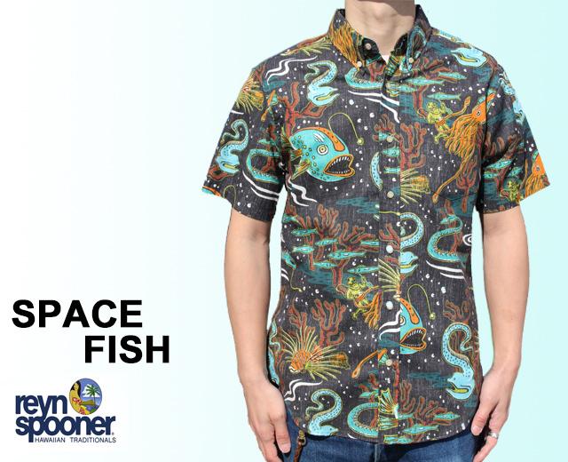 レインスプーナー アロハシャツ 深海魚