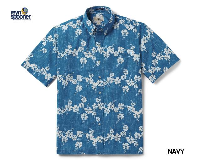 ReynSpooner レインスプーナー アロハシャツ MINI 50TH STATE FLORAL