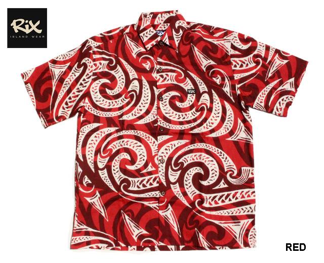 RIX ISLAND WEAR リックスアイランドウエア アロハシャツ