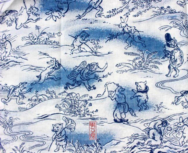 ダルチザン アロハシャツ 40th 鳥獣戯画