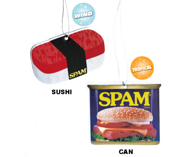 SPAM スパム エアフレッシュナー
