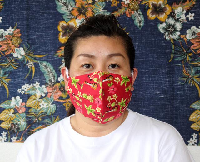 ハワイアンフェイスマスク,アロハマスク