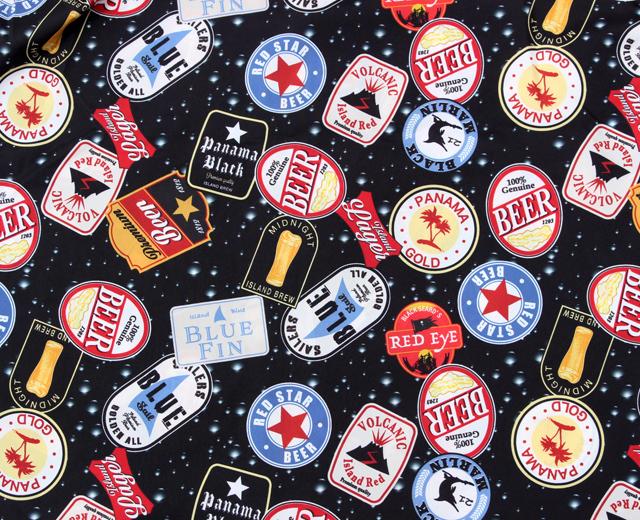 ユニバード72 アロハシャツ ビール