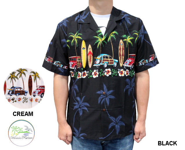 ウィーニーファッション アロハシャツ ハワイ製