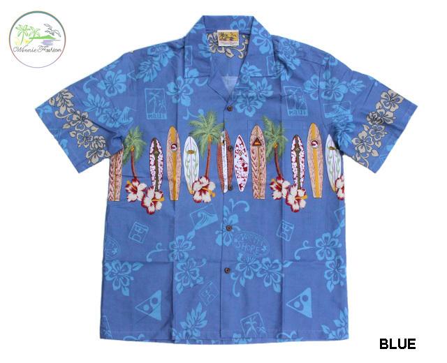 ィーニーファッション アロハシャツ ハワイ製 サーフボード