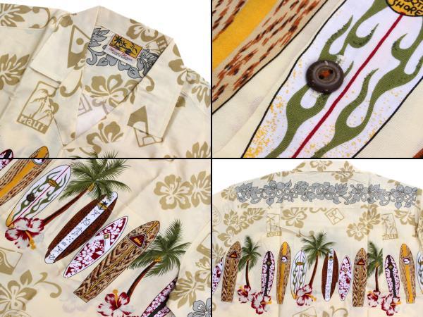 ウィーニーファッション アロハシャツ ハワイ製 サーフボード