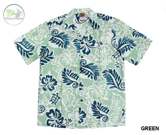ウィーニーファッション アロハシャツ ハワイ製 ホヌ