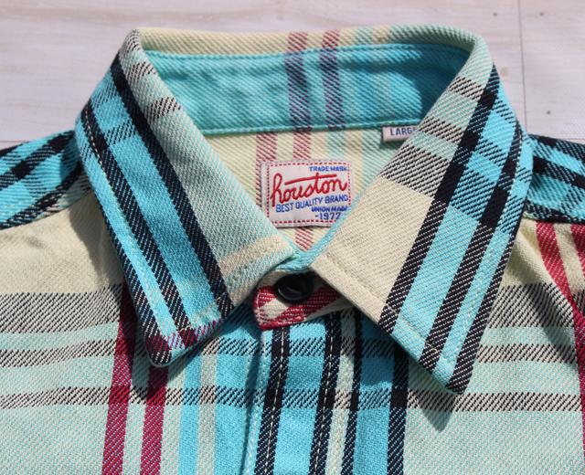 ヒューストン,ネルシャツ,チェックシャツ,ワークシャツ,