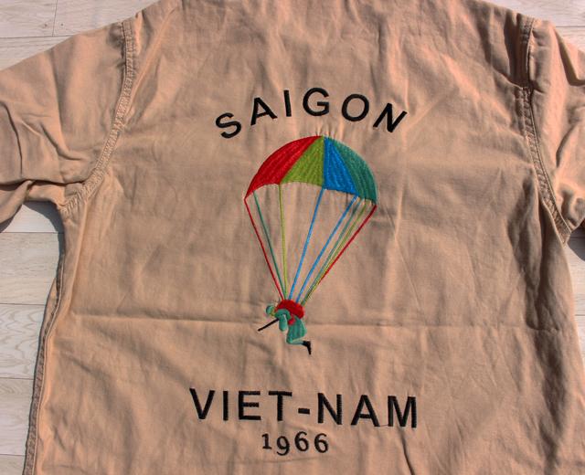 ヒューストン,ミリタリー,軍モノ,刺繍,ベトナム