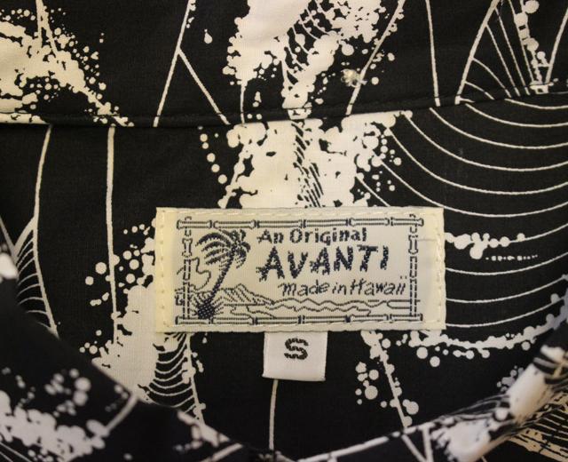 アロハシャツ 長袖 アヴァンティ ハワイ製