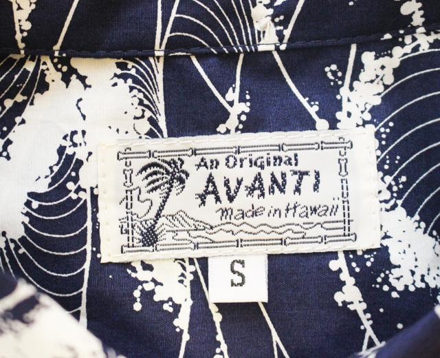 アロハシャツ アヴァンティ 長袖 ハワイ製