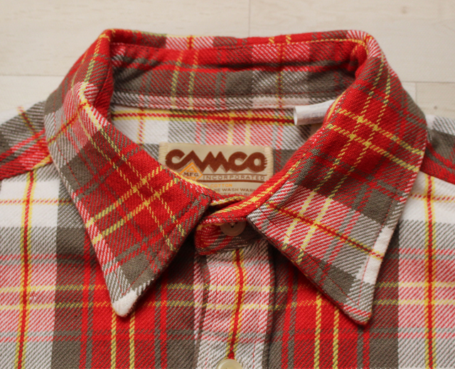 カムコ CAMCO ネルシャツ ワーク アメカジ