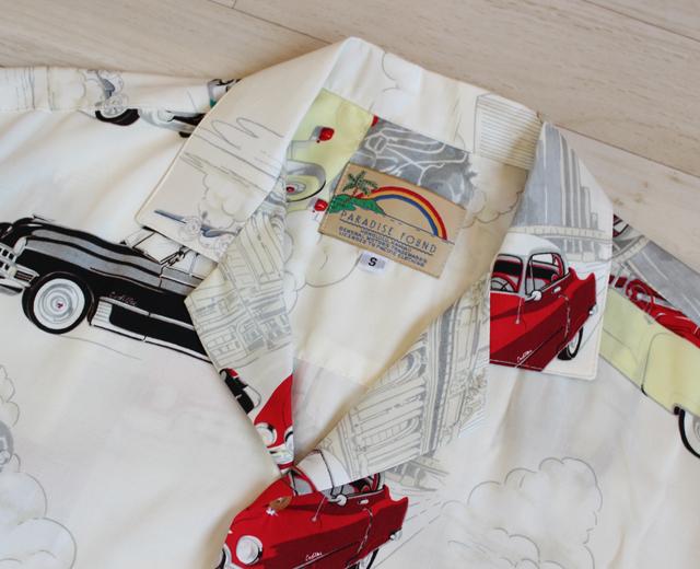 パラダイスファウンド アロハシャツ アメ車 キャデラック