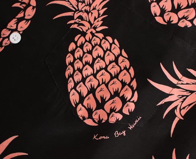 アロハシャツ コナベイハワイ パイナップル