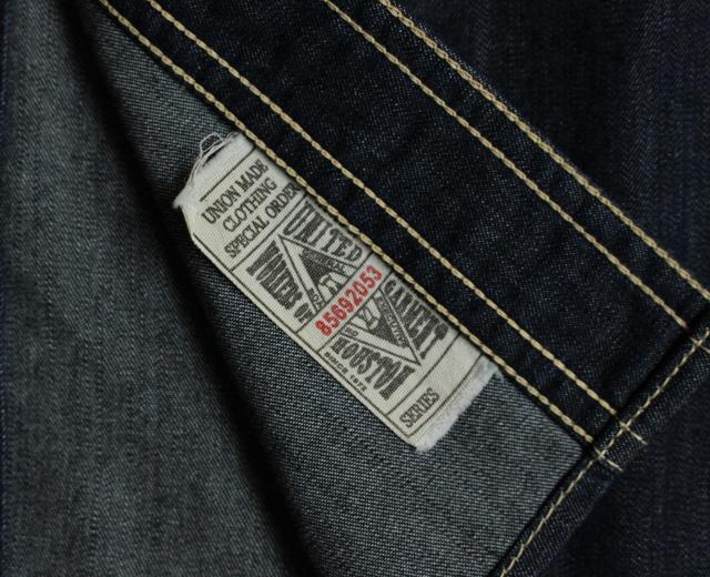 ヒューストン デニム ワークシャツ 45周年