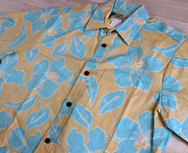 アロハシャツ トゥーパームス ツーパームス TWOPALMS ハワイ製