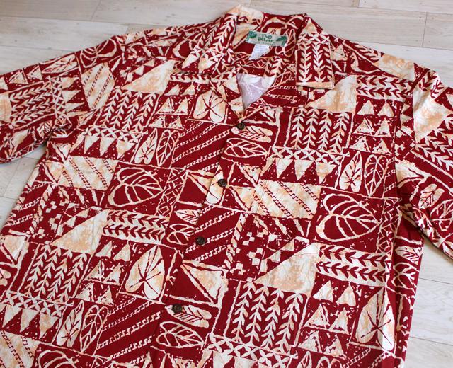 アロハシャツ トゥーパームス ツーパームス ハワイ製