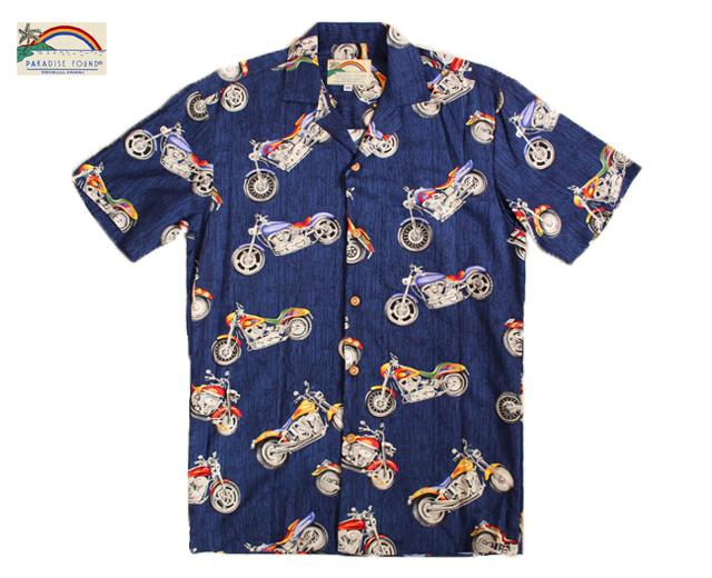 パラダイスファウンド アロハシャツ