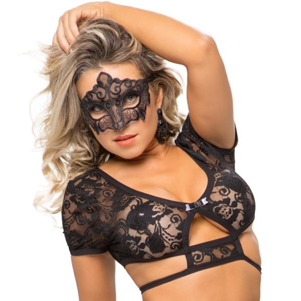 レースアイマスク セクシーグッズ インポート 仮装 コスプレ ハロウィン ブラジル製