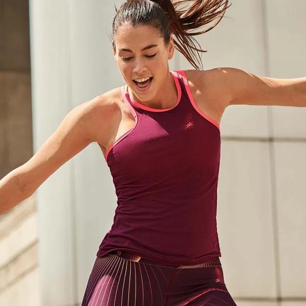 タンクトップ フィットネス Tシャツ スポーツ インポート トップス ウェア ヨガ トレーニング
