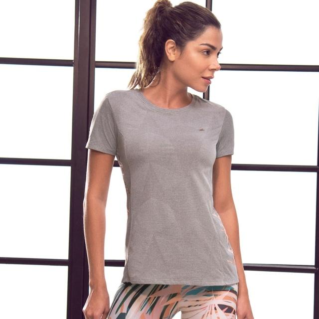 Tシャツ トップス フィッフィットネスウェア ラウンドネックTシャツ レディース ジョギング インポート