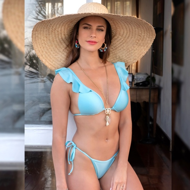 ブラジル製 インポート水着 ブラジリアン ビキニ 水着  レディース 大人女子 体型カバー