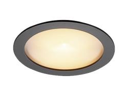 DNライティング(DNL) 薄型LEDダウンライト 100V 黒色 電球色 2700K 45°D-EX125BC