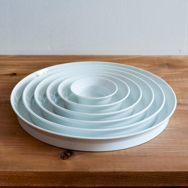 【送料無料】TY Round Deep Plate Plain White 6サイズセット≪!取り寄せ商品!通常1~3営業日で出荷≫ ( 1616 / arita japan 退職祝い ラウンドディーププレート 食器 ホワイト プレゼント おしゃれ 有田焼 )