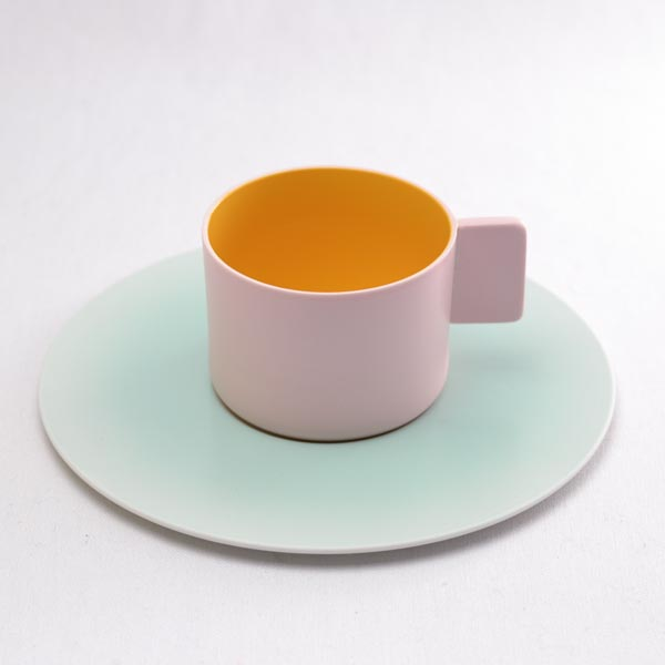 【有田焼 1616 / arita japan】 S&B Coffee Cup & saucer Light Pink 1個 ≪13時まで即日出荷≫