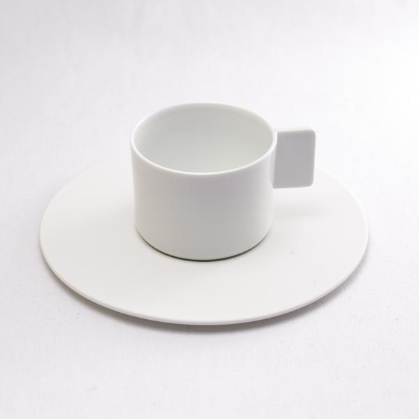 【有田焼 1616 / arita japan】 S&B Coffee Cup & saucer White 1個 ≪13時まで即日出荷≫