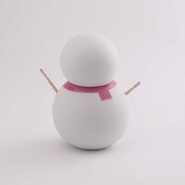 【瀬戸焼 ceramic japan】 楊枝だるま マフラー ピンク ≪13時まで即日出荷≫