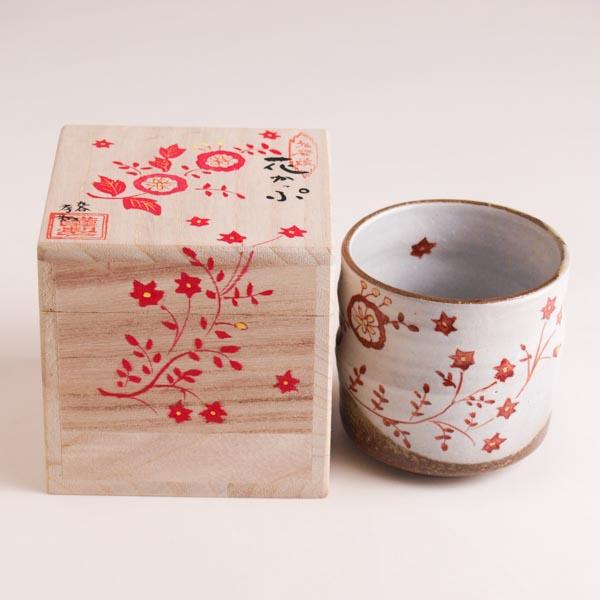 【九谷焼 】 色いろカップ 花かっぷ ≪13時まで即日出荷≫
