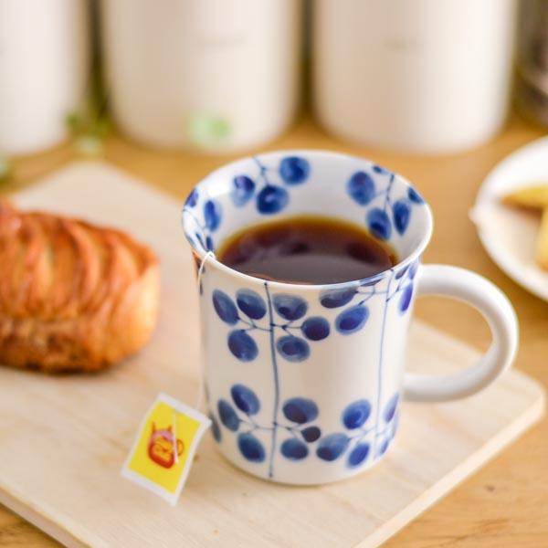 【九谷焼 】 マグカップ 萩 ≪1~3営業日で出荷≫