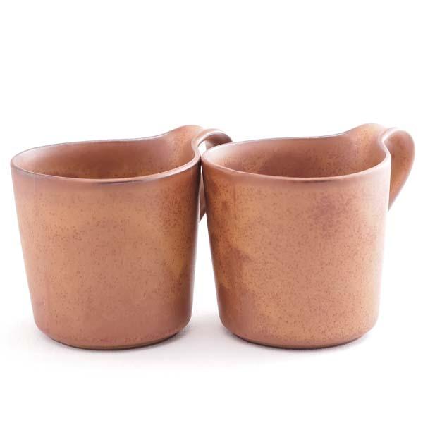【瀬戸焼 ceramic japan】 デュエット マグ ブラウン L ≪13時まで即日出荷≫