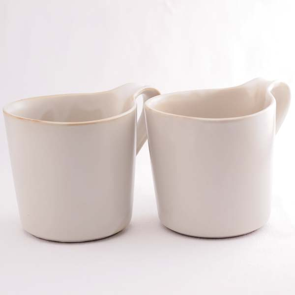 【瀬戸焼 ceramic japan】 デュエット マグ ホワイト L ≪13時まで即日出荷≫