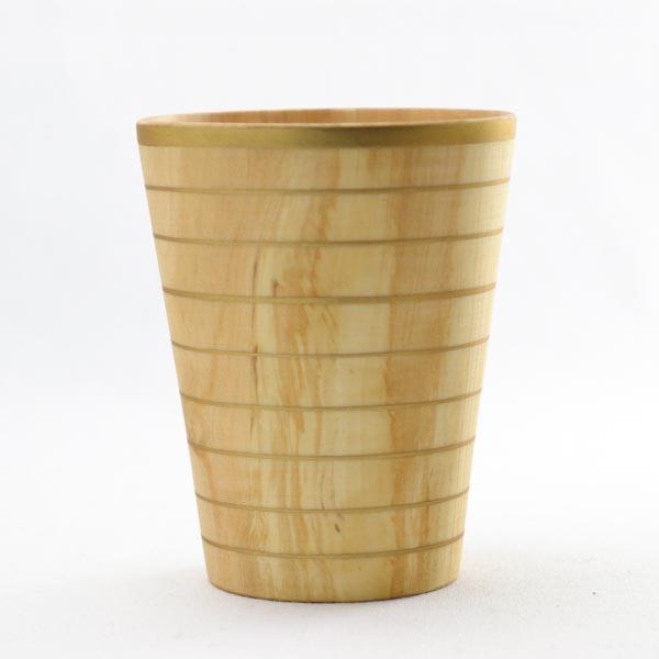 【山中漆器 】 しっとりカップ ナチュラル L ≪1営業日で出荷≫