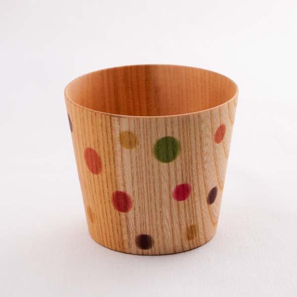【山中漆器 】 しっとりカップ カラフル S ≪1~3営業日で出荷≫