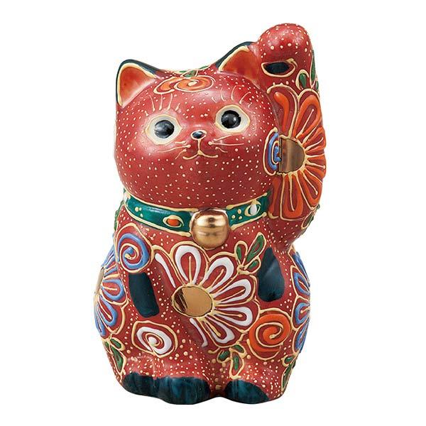 招き猫 盛 3.2号 / 招き猫 まねきねこ 置物 陶器 開運 九谷焼  ≪!メーカー直送品!通常即日発送≫