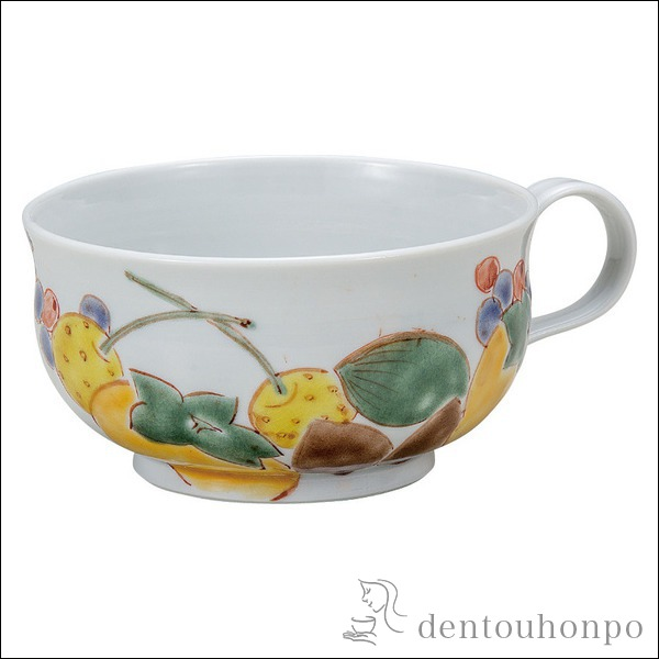 スープカップ 旬果≪!メーカー直送品!通常即日発送≫ ( デザートカップ アイスカップ アイスカップ スープボール ランキング 九谷焼 )