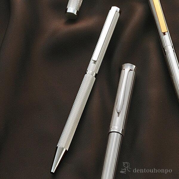 【送料無料】銀製 ボールペン OH-131≪2週間程で出荷≫ ( 高級 万年筆 鉛筆 水性 油性 東京銀器(銀工芸) )