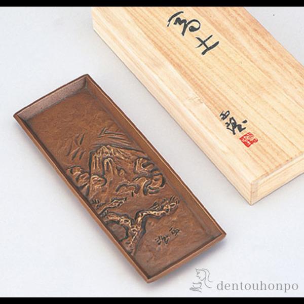 【送料無料】銅製 ペン皿 富士≪1~3営業日で出荷≫ ( 高級 万年筆 鉛筆 水性 油性 高岡銅器 )