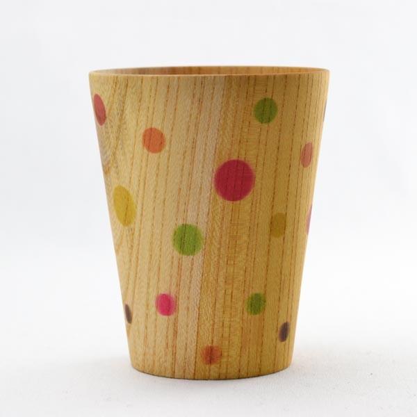 【山中漆器 】 しっとりカップ カラフル L ≪送料無料/1~3営業日で出荷≫