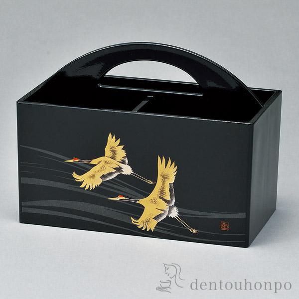 リモコンラック 翔鶴≪!メーカー直送品!通常1~3営業日で出荷≫ ( 名入れ可 アクセサリー入れ 収納ボックス ケース BOX 宝物 山中漆器 )