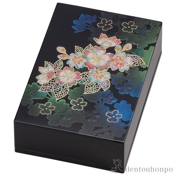 名刺入 輝桜≪1~3営業日で出荷≫ ( 名入れ可 メンズ レディース 名刺ケース カードケース 女性 山中漆器 )